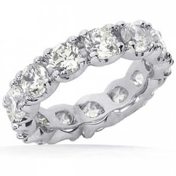 wedding ct band mens round pave ring rng white diamond bands ladies gold