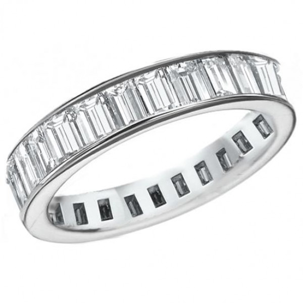 and ring handmade cut bands sale eternity band id for rings wire diamond emerald platinum l j jewelry
