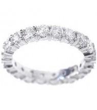 2.20 ct Round cut Diamond Eternity Wedding Band, 0.10 ct Each